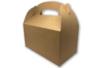 Boites à goûter en carton blanc ou kraft - Lot de 6 - Boîtes – 10doigts.fr
