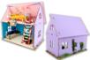 Maison de poupée en bois - 10doigts.fr