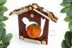 Boutons ronds en bois naturel verni - Set de 300 - Boutons – 10doigts.fr