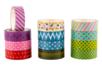 Masking tape - Set de 12 rouleaux - Rubans adhésifs et Masking tape – 10doigts.fr