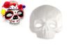 Demi masque tête de mort - Halloween – 10doigts.fr
