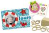 Mini-cadres moussaillon - Kit pour 12 réalisations - Kits activités sur bois - 10doigts.fr