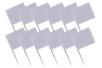 Mini-drapeaux à décorer - Anniversaires – 10doigts.fr