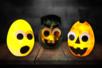 monstres halloween lumineux cirtouille fantome enfants bricolage - Tête à Modeler
