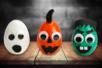 monstres halloween lumineux cirtouille fantome enfants - Tête à Modeler