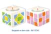 Stickers mosaïques en caoutchouc souple auto-adhésif - 1000 pièces - Mosaïques adhésives – 10doigts.fr