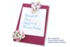Fleurs en tissu molletonné fleuri - 8 pièces - Motifs en tissu molletonné – 10doigts.fr