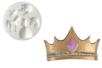 "Moule silicone ""Princesse"" - 5 formes - Moules en silicone – 10doigts.fr"