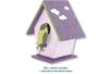 Nichoir à oiseaux en bois à poser - 9.5 cm - Nichoirs – 10doigts.fr