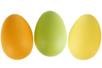 Oeufs en plastique couleur - Oeufs – 10doigts.fr