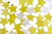 Paillettes étoiles or et argent - Sachet de 8000 paillettes - Paillettes fantaisie – 10doigts.fr