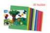 Papiers de soie couleurs vives assorties - 26 feuilles - Papier de soie – 10doigts.fr