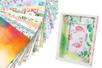 """Papiers épais motifs """"Aquarelle""""  24 x 34 cm - 20 feuilles - Papiers motifs fleurs et nature - 10doigts.fr"""
