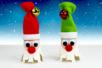 Maxi grelots couleurs assorties - Set de 6 - Grelots et clochettes – 10doigts.fr