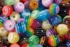Shamballas... avec des perles bayadères et perles animaux - Bijoux Shamballas – 10doigts.fr