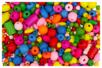 Perles en bois couleurs et formes assorties - Perles en bois - 10doigts.fr