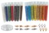 Kit bijoux en perles de rocailles + fil nylon + fermoirs - Perles de rocaille – 10doigts.fr