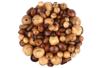 Perles en bois naturel verni - 200 perles - Perles en bois – 10doigts.fr
