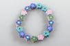 Perles fleurs Millefiori en pâte polymère - 100 perles - Perles en pâte polymère – 10doigts.fr