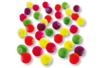 Perles fluo couvertes de gomme douce - Vive l'été ! - 10doigts.fr