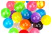 "Perles rondes ""Shine"" en acrylique - Set de 25 - Perles acrylique - 10doigts.fr"