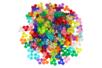 Perles tripodes translucides en plastique - Set de 250 - Perles en plastique – 10doigts.fr