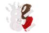 Kit Personnages de Noël pompon - Set de 2 - Décoration de Noël – 10doigts.fr