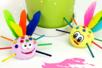 Petite bébêtes rigolotes en pâte à modeler - Activités enfantines – 10doigts.fr