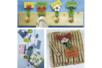 Pinces à linge, couleurs assorties - Pinces à linge classiques – 10doigts.fr