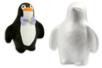 Pingouin en polystyrène 15,5 cm - Animaux – 10doigts.fr