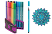 Feutres Stabilo Pen 68 + Cahier coloriage OFFERT - Feutres Fins – 10doigts.fr