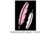 "Pochoirs adhésifs repositionnables ""Plumes"" - Pochoirs Adhésifs – 10doigts.fr"