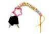 Perles abeilles couleurs pastel - 100 perles - Perles acrylique – 10doigts.fr