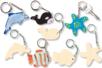 Porte-clefs en bois à décorer - Fête des Mères – 10doigts.fr