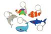 """Porte-clés en bois """"Animaux de la mer"""" - 5 animaux - Porte-clefs en bois – 10doigts.fr"""
