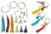 Porte-clés pompons colorés - Kit 3 couleurs - Kits bijoux – 10doigts.fr