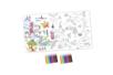 Coffret Poster géant - Activité Coloriage - Support pré-dessiné – 10doigts.fr