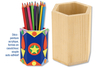 Pot à crayons héxagonal - Pots à crayons - 10doigts.fr