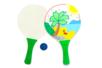 Raquettes de plage à décorer - Lot de 2 - Kits activités de plein Air – 10doigts.fr