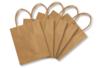 Sacs en papier kraft naturel - Papiers cadeaux - 10doigts.fr