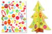 Sapin 3D à décorer avec des gommettes - Gommettes et stickers Noël – 10doigts.fr