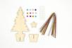 Kit sapin de Noël en bois à décorer - Kits et Activités de Noël – 10doigts.fr