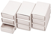 Set de 10 boîtes d'allumettes en carton blanc - Activités enfantines – 10doigts.fr