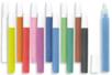 Tubes de sable fin, couleurs assorties - Sables colorés – 10doigts.fr