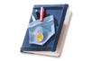 Tissu auto-adhésif effet Jean - Tissu auto-adhésif – 10doigts.fr