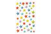 Stickers 3D étoiles en plastique - Gommettes et stickers Noël - 10doigts.fr