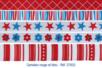 Rubans en camaïeu rouge et bleu - Set de 5 - Rubans et ficelles - 10doigts.fr