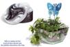 Paillettes ultra-fines en pot de 20 gr - 6 couleurs assorties - Paillettes à saupoudrer – 10doigts.fr