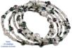 Rocailles en camaïeu noir et argent - 7000 perles - Perles de rocaille – 10doigts.fr