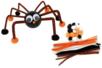 Kit pompons et chenilles Halloween - Halloween - 10doigts.fr
